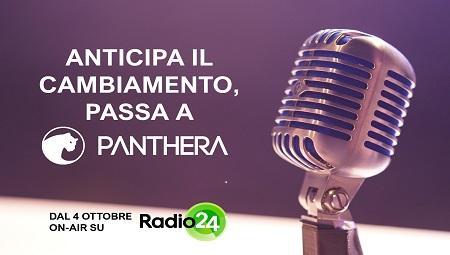 Dal 4 ottobre Panthera è su Radio24 e parla alle aziende italiane che credono nella Trasformazione Digitale.